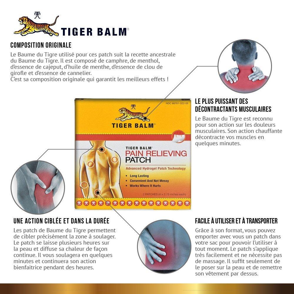 effets patch baume du tigre